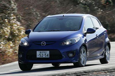 Mazda Demio Sport.