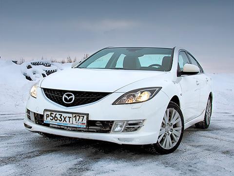 ���������� ������� ������� ����� �����������. ����� �������� ���������� Mazda6, ��� �� ���������� � �������, � ��������� ������ � � �� �� ����� ���������� �����.