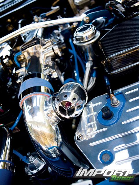Клапан блоу-офф Toyota Supra.