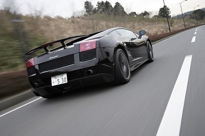 Lamborghini Gallardo Superleggera.