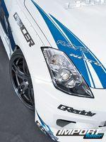 Фара Nissan 350Z.