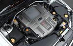Этот 4-цилиндровый двигатель объемом 2,5 л был оснащен турбиной с двумя улитками.