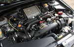 Обладая мощностью в 224 л.с. и 306,4 Нм момента, 2,5-литровый 4-цилиндровый оппозитный двигатель WRX вполне может задать жару.