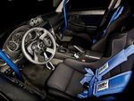 Subaru Impreza WRX. Интерьер салона.