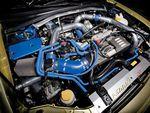 Subaru Impreza WRX. Двигательный отсек.