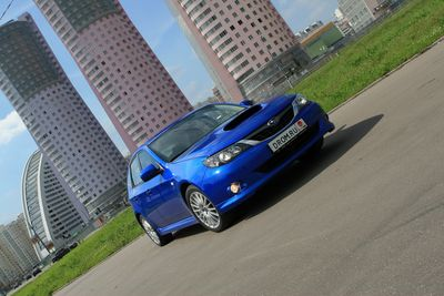 Subaru Impreza WRX на тест-драйве Drom.ru.
