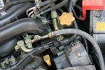 Маслозаливная горловина у горизонтально-оппозитного турбированного двигателя находится не в традиционном месте.