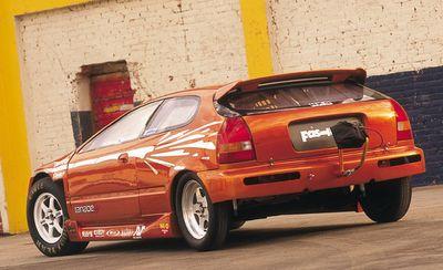 Уникальный хэтчбэк Civic с двигателем от суперкара Honda NSX.