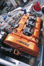 3-литровый двигатель V6 DOHC VTEC от Honda NSX.