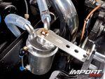 Маслоуловитель в Honda S2000.