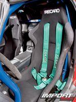 Сидения Recaro в Honda S2000.