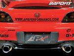 Honda S2000. Вид сзади.