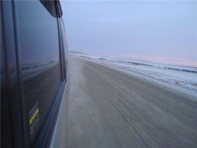 Перегон Уссурийск - Красноярск на Nissan Serena, ноябрь 2008 года.