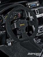 Subaru Impreza WRX, рулевое колесо Sparco
