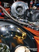 Subaru Impreza WRX, турбонаддув