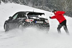 Subaru Impreza WRX STI на тесте