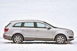В роли большого Audi Q7 3.0 TDI quattro (длина кузова 5086 мм)