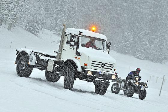 Быстрее не бывает: тот, кто желает мчаться по снегу на скорости, непременно познакомится с непоседливым Suzuki-Quad.