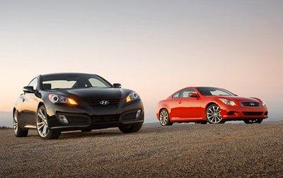 Очевидное и невероятное: Hyundai Genesis Coupe лучше Infiniti G37