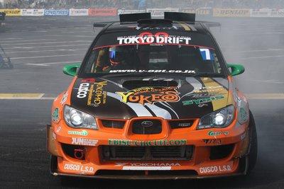 Subaru Impreza WRX STI Team Orange. За рулем - Танака Кадзухиро