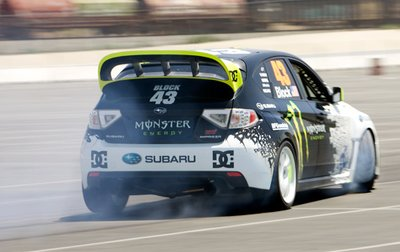 Subaru Impreza WRX STI Кена Блока.