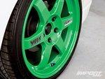 Диски Volk Takata Green TE37 17x7,5 дюймов