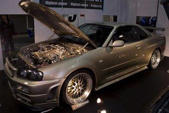 Nissan Skyline  GT-R R34 от мастерской Phoenix Power SPL