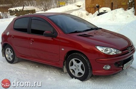 Peugeot 206 (���������� �� Drom.ru)