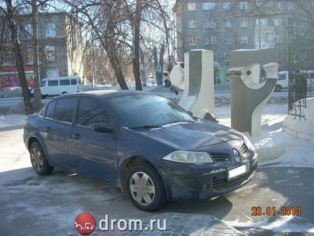 Renault Megane (���������� �� Drom.ru)
