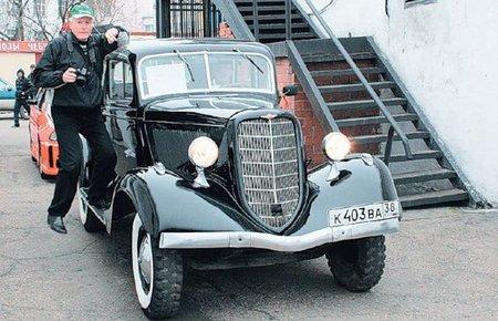 ГАЗ М1 (Середкин  Сергей, Шелехов)
