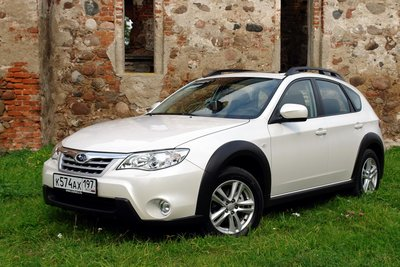 Subaru Impreza XV на тест-драйве Drom.ru