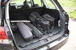 Багажник Аутбека довольно вместительный