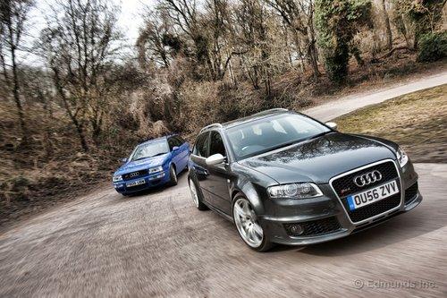 Audi RS4 Avant и RS2 Avant