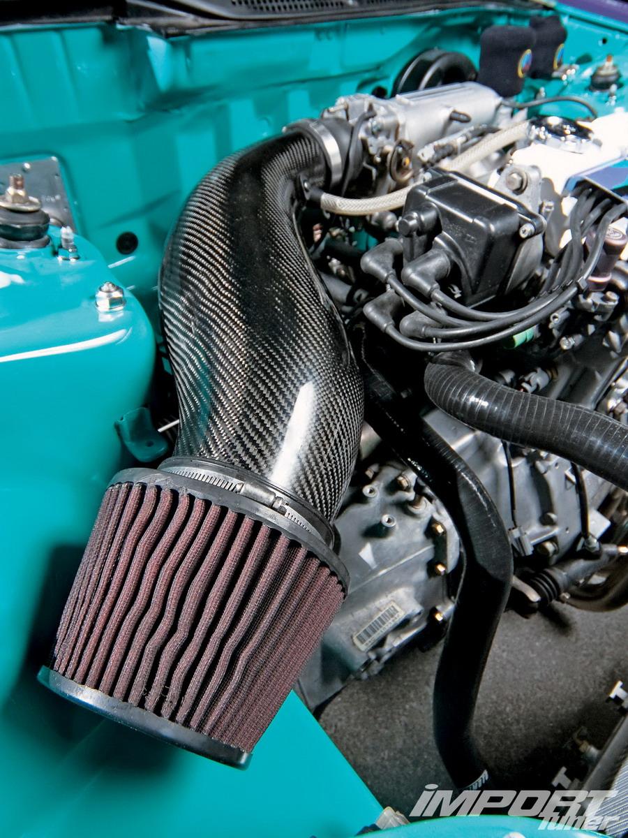 Спецификации Honda Civic '92 DX Мощность: неизвестно.  Двигатель: мотор B16A2 от '00 Civic Si; распределительные валы...