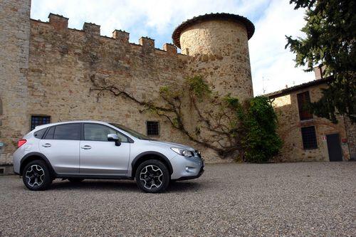 Subaru xv тест драйв фото