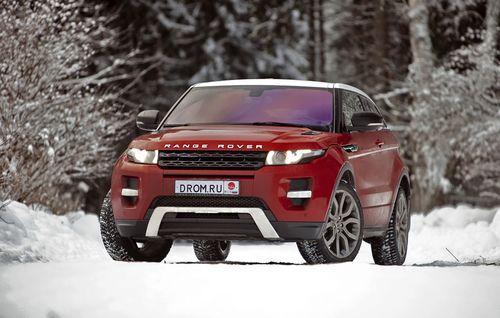 Тест-драйв Range Rover Evoque Si4