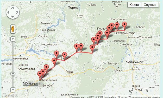 Нижние Серги―Арти―Бирск―