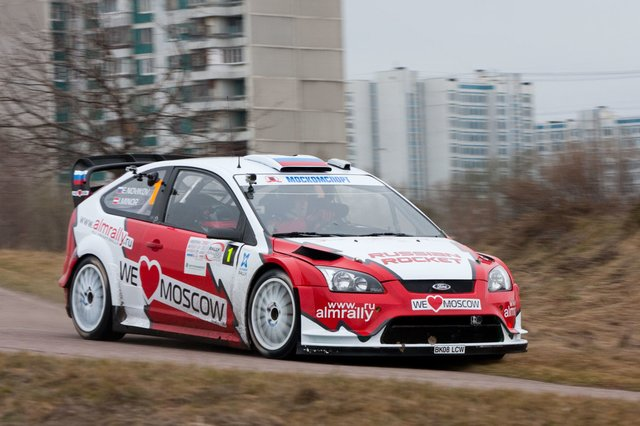 Ford Focus WRC (пилот Евгений Новиков)