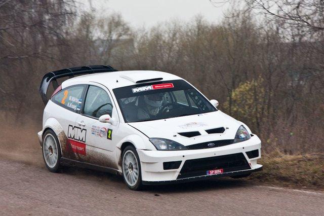 Ford Focus WRC (пилот Маркко Мяртин)