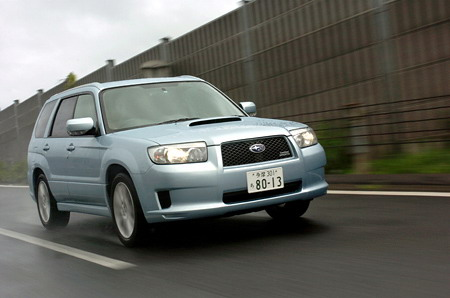Planet Dcars 2005 Subaru Forester Cross Sports