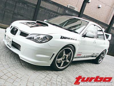 Subaru WRX STI spec C 2006 года выпуск