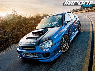 Subaru Impreza WRX 2004 – неугасающая любовь