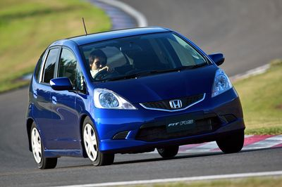 Honda Fit Prototype.