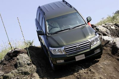 Toyota Land Cruiser AX.