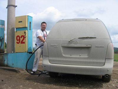 Из Владивостока в Москву на Mazda MPV.
