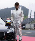 Тейдзи Арараки за рулем Audi R8.
