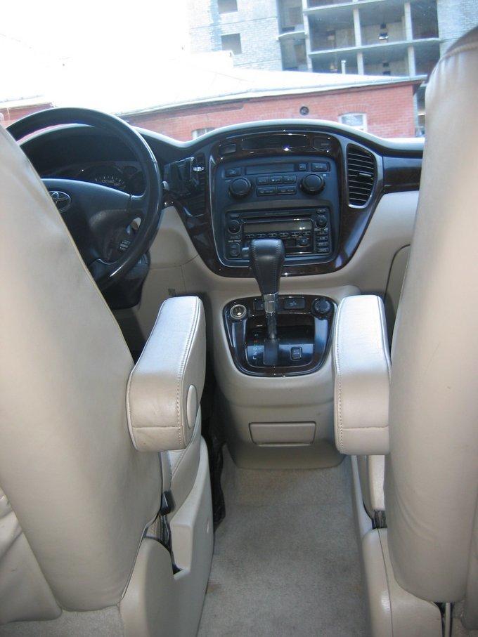 Toyota Kluger Club - drom.ru - Sinebot / 3,0 4WD 2001