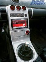 Центральная консоль Infiniti G35.