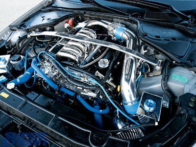 Двигатель Infiniti G35.