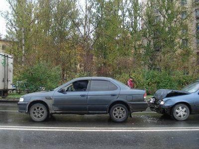 Переезд из Находки в Санкт-Петербург на Nissan Sunny.